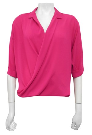 LIMITED STOCK - CLICK TO SEE COLOURS - Shellie loose turn up shirt