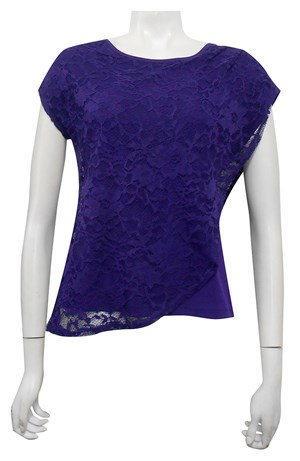 BIBA - Willow lace double layer top