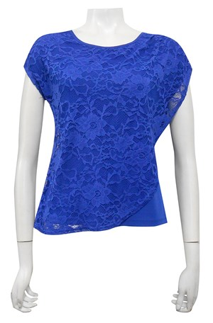 ROYAL - Willow lace double layer top