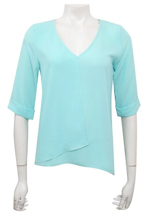 MINT - Sandy V neck DG top