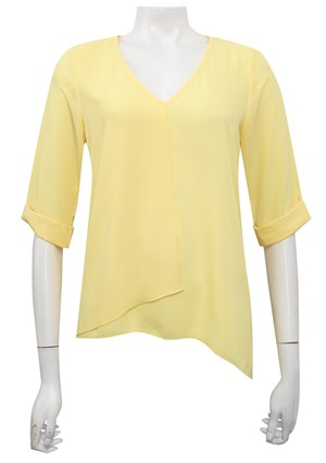 SUNSHINE - Sandy V neck DG top