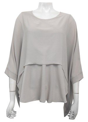 LIMITED STOCK - BEIGE - Ellen DG overlay top
