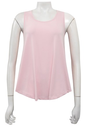 BABY PINK - Lillian soft knit baby doll singlet