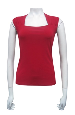 CLICK TO SEE COLOURS AVAILABLE - Ally soft knit top with extended shoulder with gathers