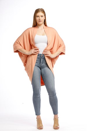 Bamboo Shrug Available in TEAL,SILVER,PEACH, BLACK