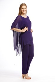 BIBA - Tilly chiffon overlay jumpsuit