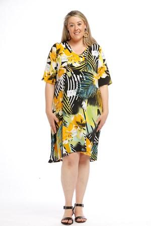Printed Soft Knit Dress