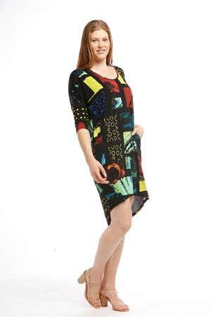 Lola High Low Multi 2 print