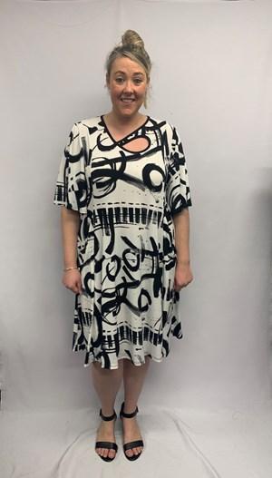 Soft Knit Key Hole Dress CLICK TO SEE 2 NEW PRINTS