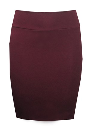 CLICK TO SEE COLOURS AVAILABLE - Short ponti skirt