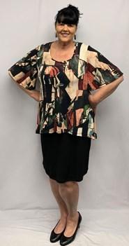 Sarah Jane Overlay Dress