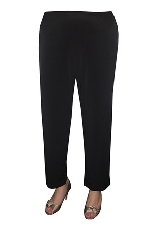 Diana Soft Knit Pant - Black