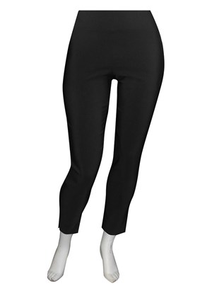 Helen bengaline straight leg pant with side splits