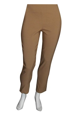 COFFEE - Helen bengaline straight leg pant with side splits