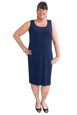 Meryl shorter length singlet dress
