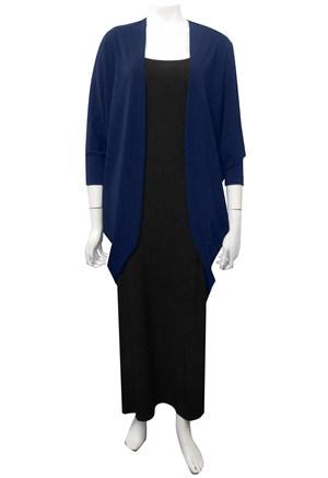 NAVY - Lizzie jacket in woolly knit