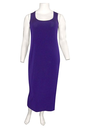 CLICK TO SEE COLOURS AVAILABLE - Roxanne sleeveless maxi dress