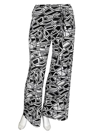 Mora printed pant with D ring