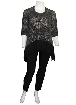Yessica sparkle knit top
