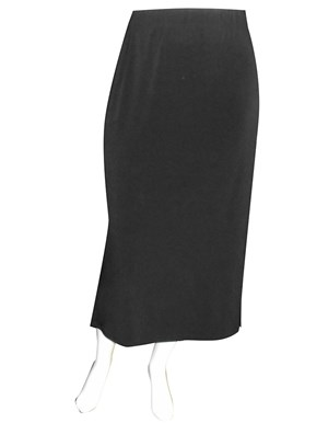 LIMITED Gail long soft knit skirt with side splits
