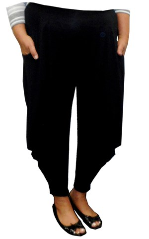 LIMITED STOCK - Anna wonderland cowl side pants