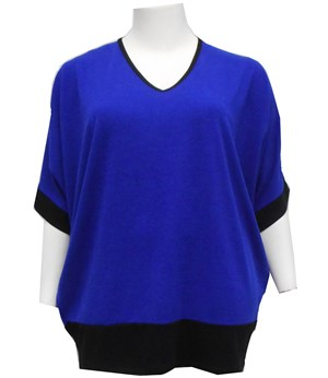 ROYAL - Margaret batwing knit