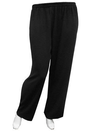 BLACK - Natalie wide leg pant