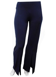 NAVY - Tania split front pants