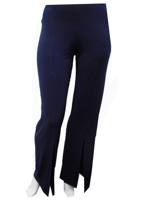 NAVY - Tania split front pants