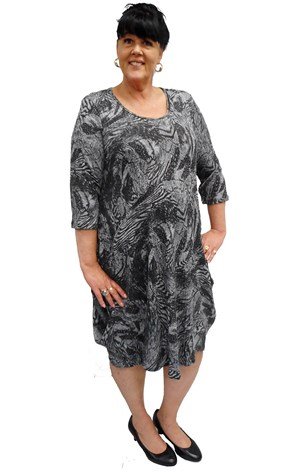 Carla cowl dress