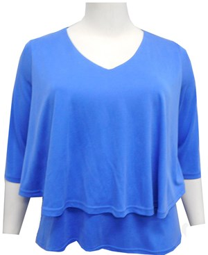 BLUE - Ronda double layer top