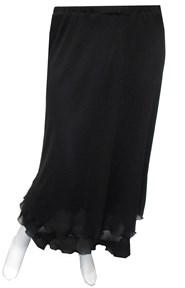 BLACK - Kayla chiffon skirt