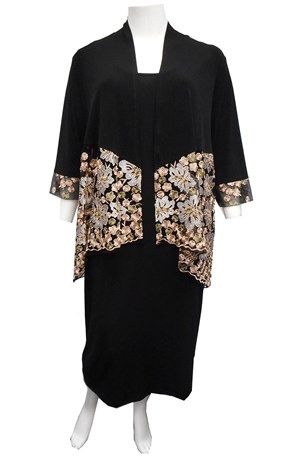 SOLD OUT  - GOLD - Natalie embroidered shrug