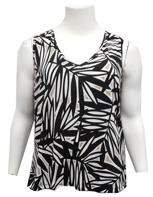 LIMITED STOCK - Bella printed singlet