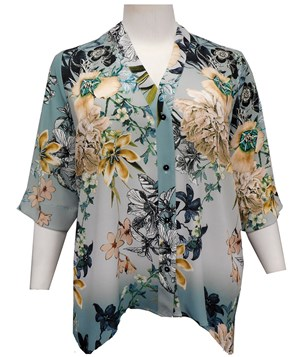 FLORAL - Shirley blouse
