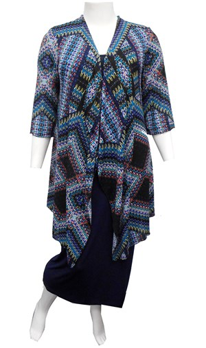AZTEC - Melissa long duster