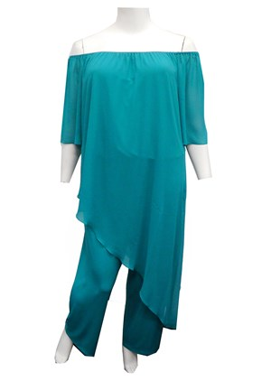 LIMITED STOCK - TEAL - Naomi jumpsuit