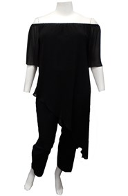 BLACK - Naomi jumpsuit