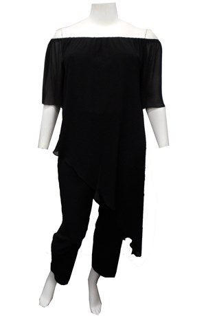 LIMITED STOCK - BLACK - Naomi jumpsuit