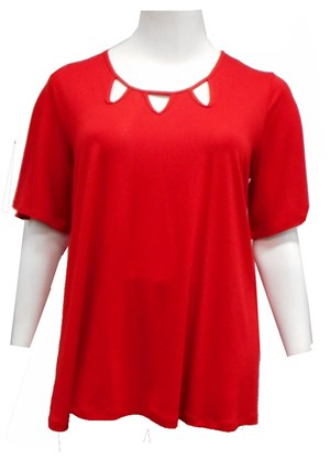 Betty keyhole swing top