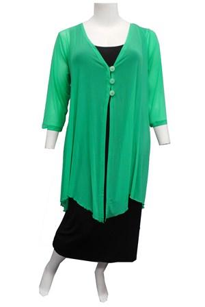 GREEN - Sharon mesh jacket