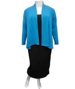 AQUA - Long sleeve knit jacket