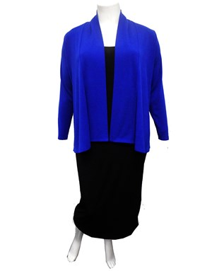 ROYAL - Long sleeve knit jacket