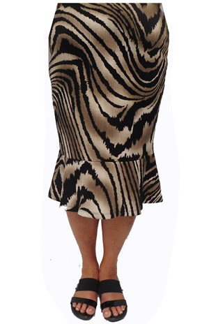 Debbie animal print skirt