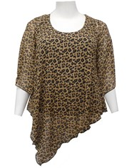 ANIMAL - Gina chiffon tunic