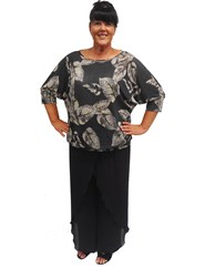 LIMITED STOCK - Ashley batwing top