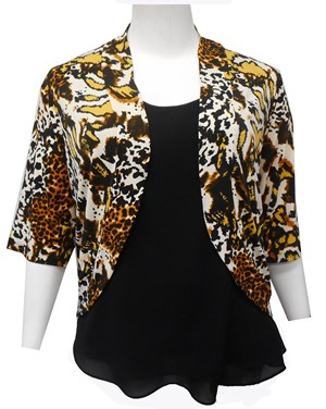 LIMITED STOCK - Sophia print shrug