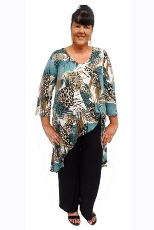 Isabellla knot tunic