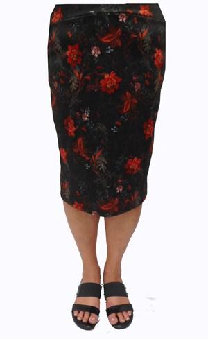Ava printed skirt
