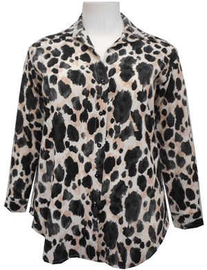 Hannah animal blouse